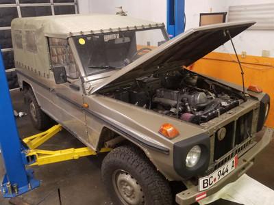 G-Wagen Engine & Transmission Swap