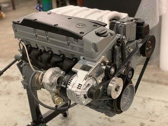 Mercedes OM606 High-Performance Turbo Diesel Engine