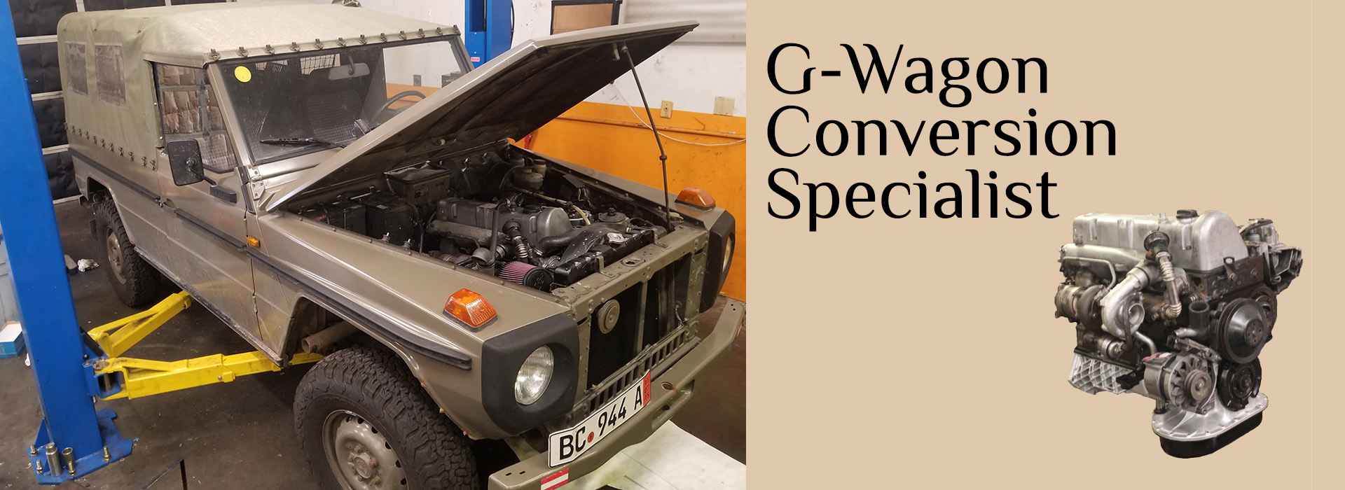 Mercedes G-Wagon Conversions