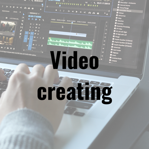 Video Creation (how to engage children and encourage self study)