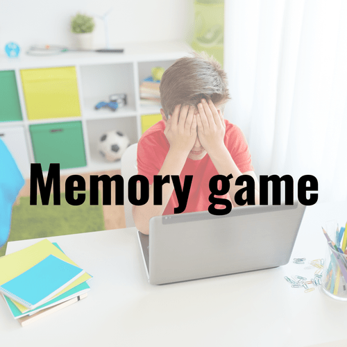 Test you memory game! In PPT. But you can covert to google slides if you have google drive.