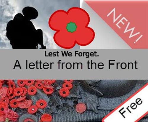 Free English lesson WW1. History KS2