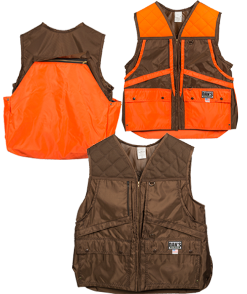 Available in Brown/Orange or solid Brown