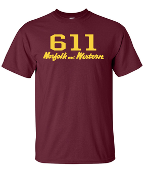 611 Locomotive and Tender Specification T shirt