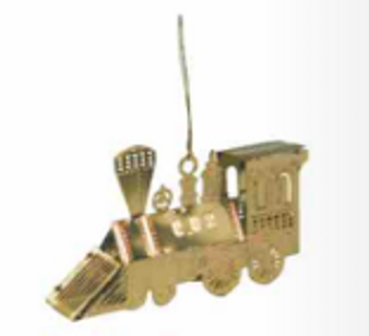 Brass Engine Ornament