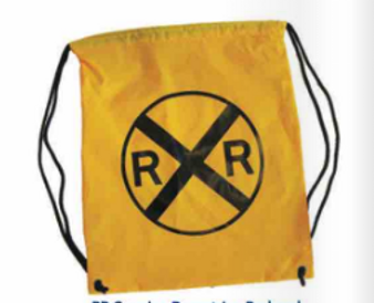 RR Crossing Yellow Bag