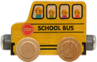 NameTrains School Bus