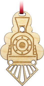 Train Engine Ornamette