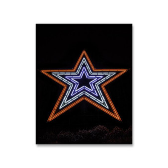 8x10 Mill Mountain/Roanoke Neon Star