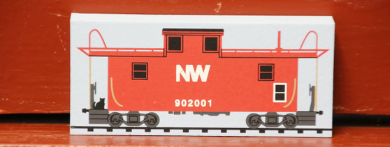 N&W Caboose by Cat's Meow