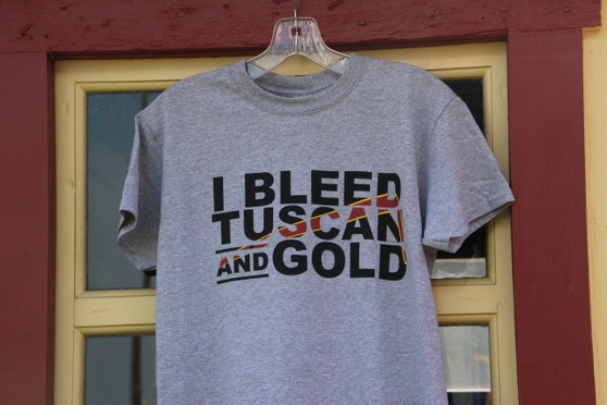 I Bleed Tuscan and Gold / Youth Sizes