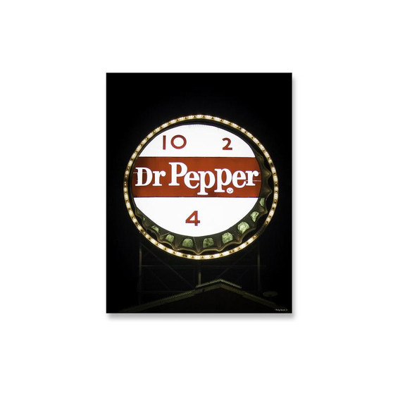 8x10 Dr Pepper Neon Sign