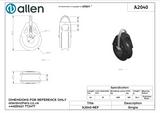 Allen 40mm Dynamic Block