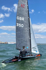 Image shows I-LEX mainsail