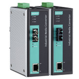 Ethernet/Fiber Media Converters (IMC Series)