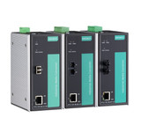 Rail Ethernet/Fiber Media Converters (PTC Series)