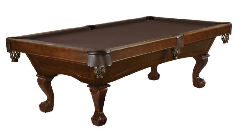 This 8' Allenton is displayed using  Chocolate Brunswick Centennial Cloth