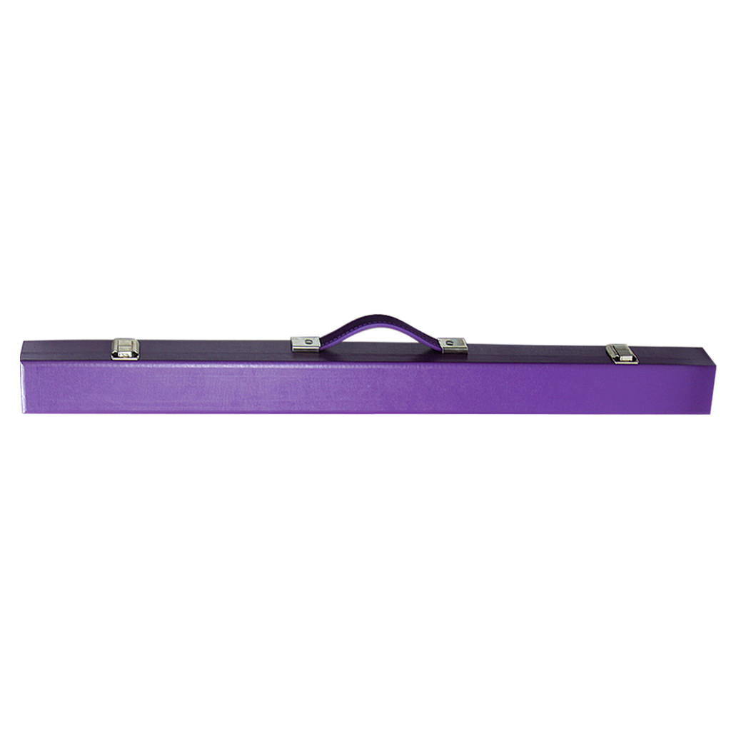 2 Pce Cue Case - Purple