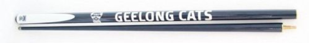 Licenced AFL Geelong 57' Cue 2 pce