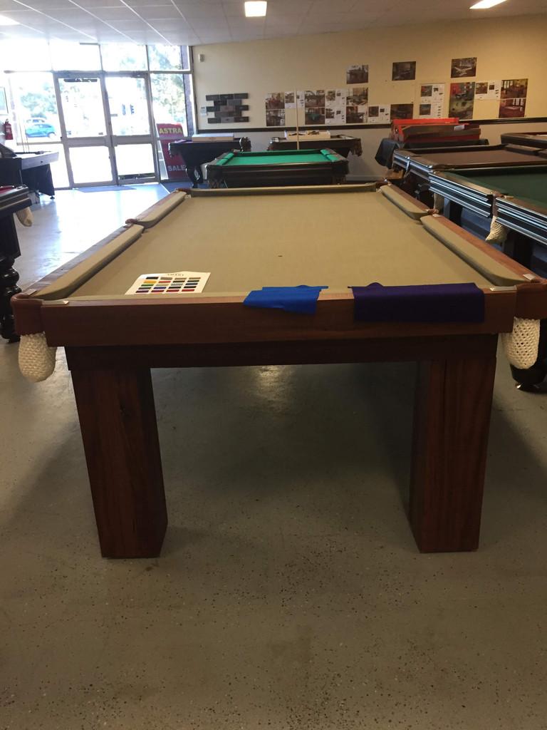 8FT Glenrowan - Jarrah Pool Table