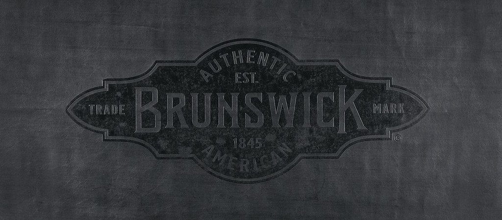 9' Black Brunswick Pool Table Cover with Emblem - Contender