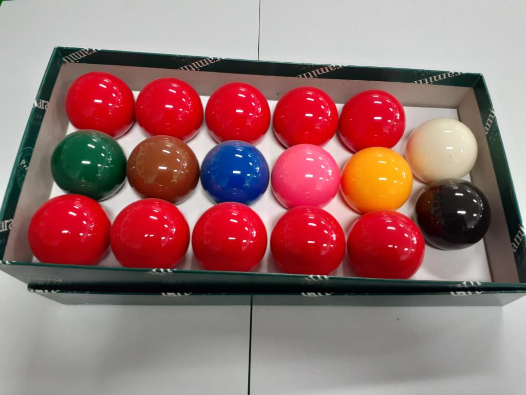 2' Aramith Snooker Balls (10 Red)