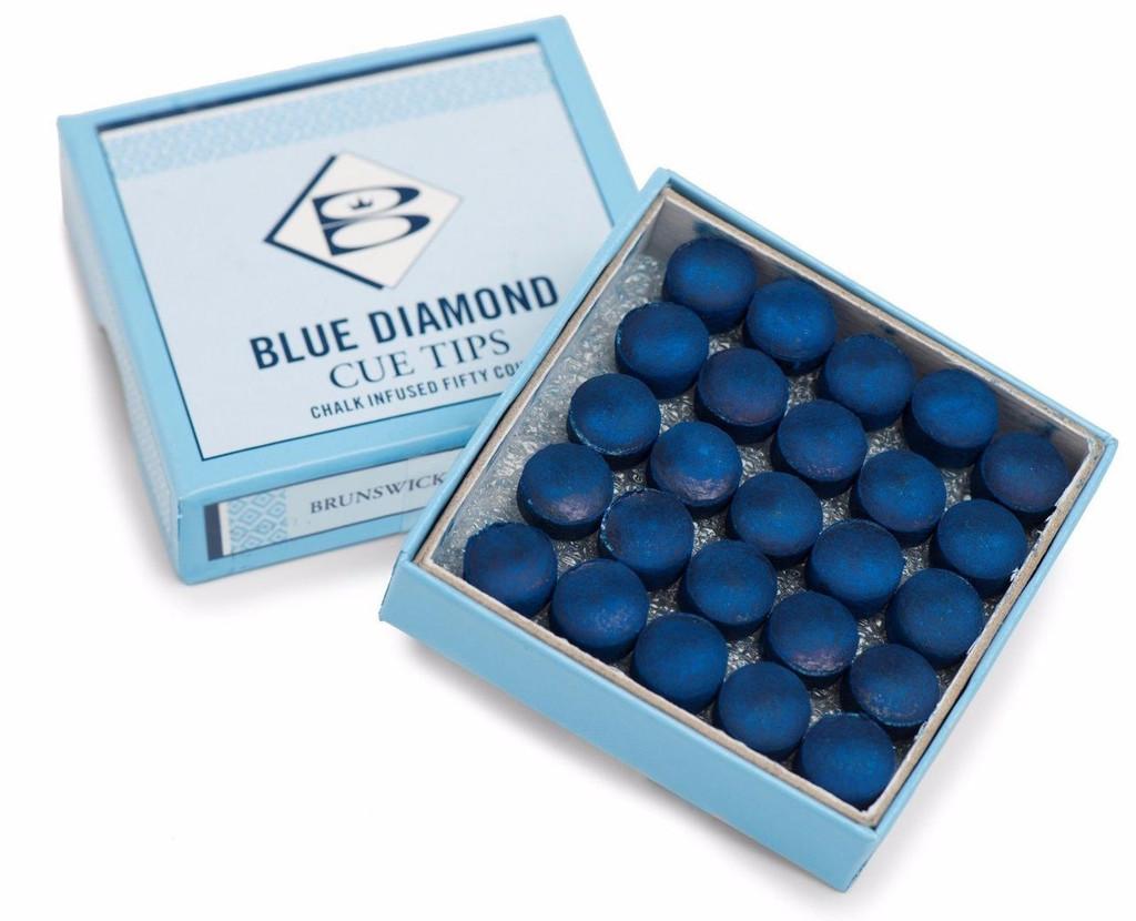 Brunswick Blue Diamond Tips 10mm