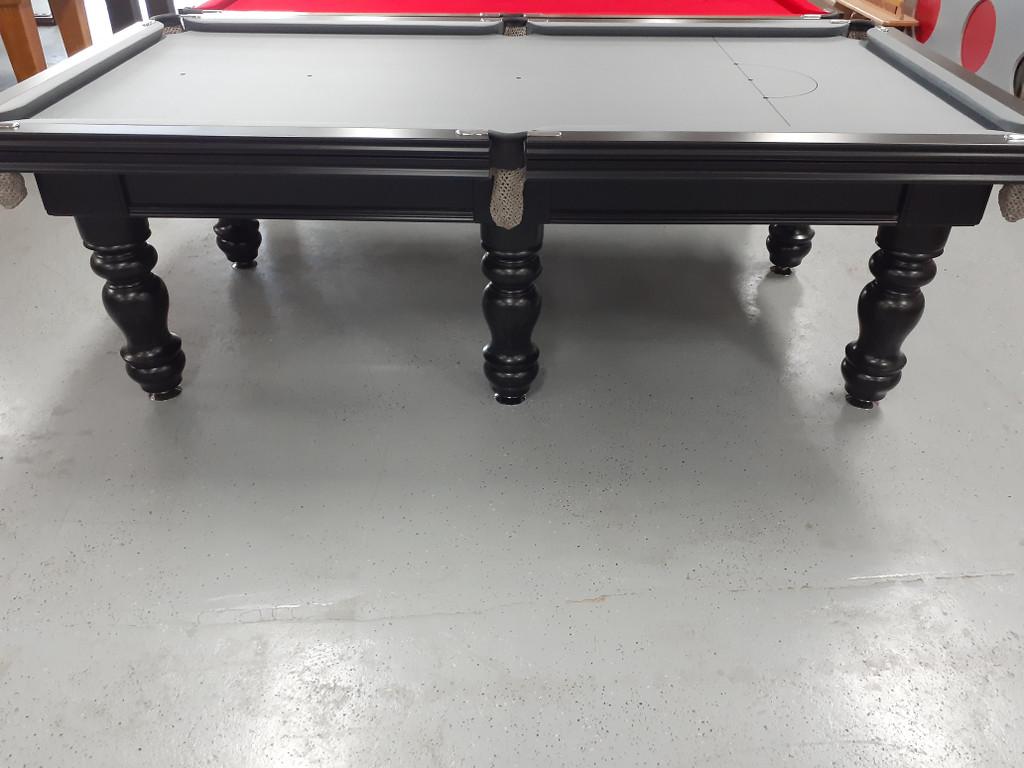 8ft Royal Pool Table Black