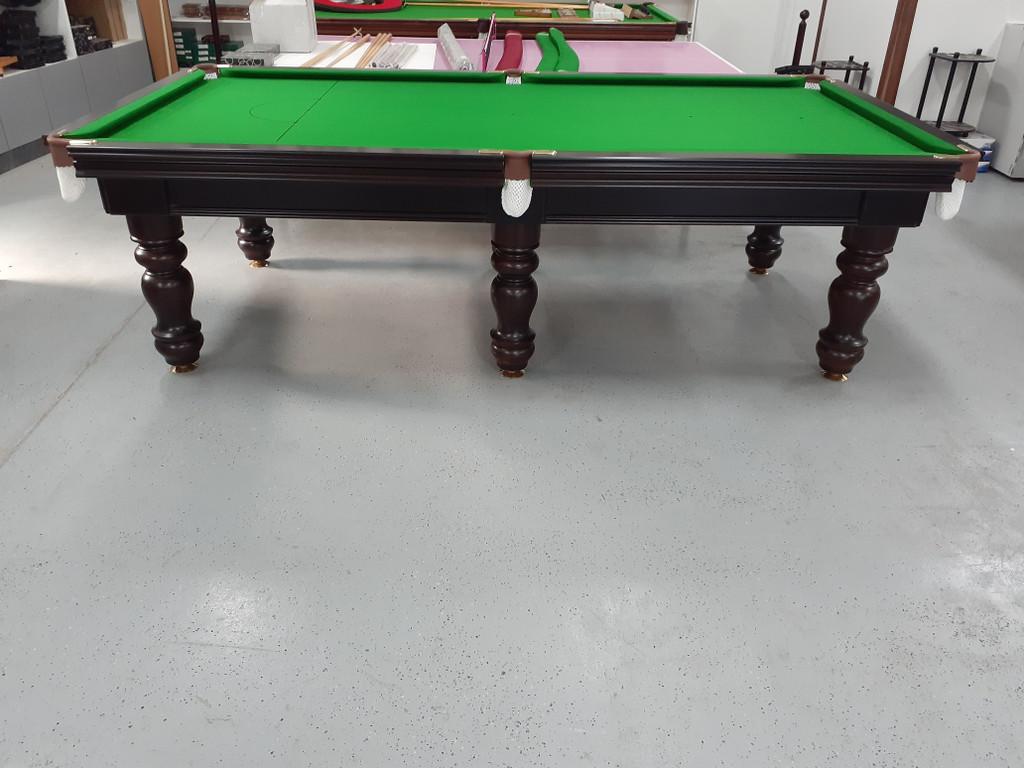 9ft Royal Pool Table Dark Walnut