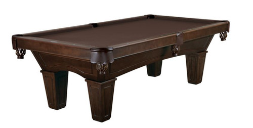 This 8' Allenton is displayed using  Chocolate Brown Centennial Cloth