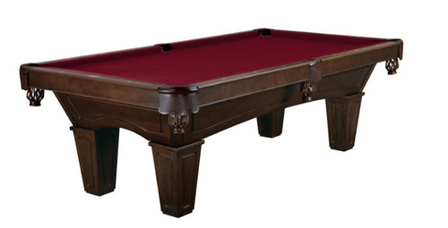 This 8' Allenton is displayed using  Merlot Centennial Cloth