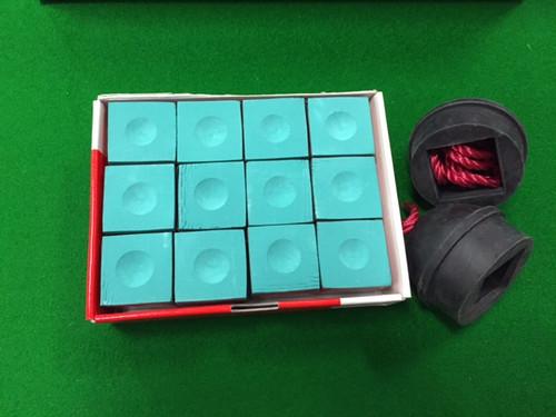 "2"" inch SNOOKER POOL BALLS, TRIANGLE, CHALK, HOLDERS & RULE BOOK PACKAGE -  Pool Snooker Billiard Balls"