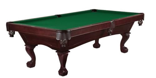 Brunswick Billiards Allenton 7' Pool Table - Cherry Stain - Ball & Claw Leg