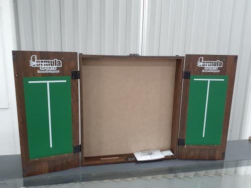 Sports Bar Dartboard Cabinet