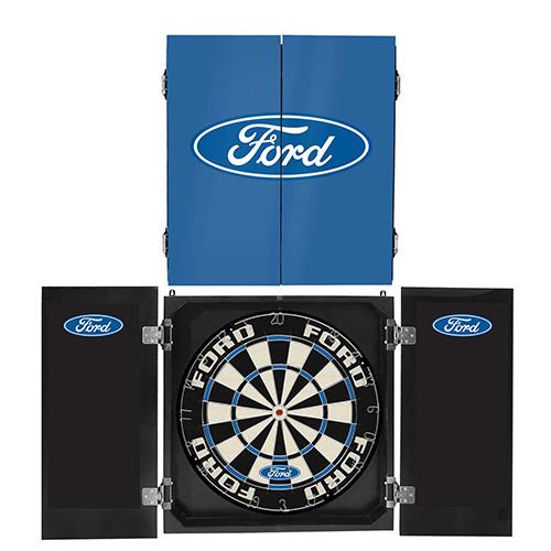 Ford Cabinet Dartboard Set