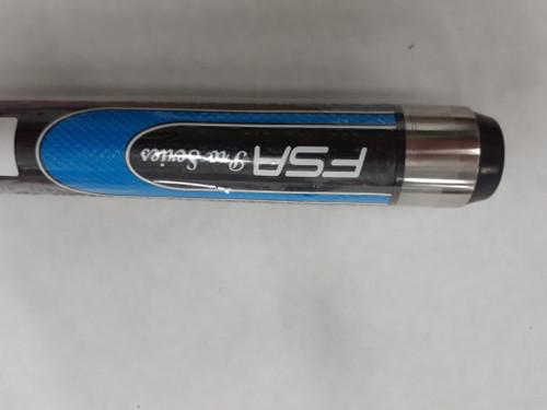 """Soft Grip Hybrid Ash 57"""" 2Pc Cue Blue"""