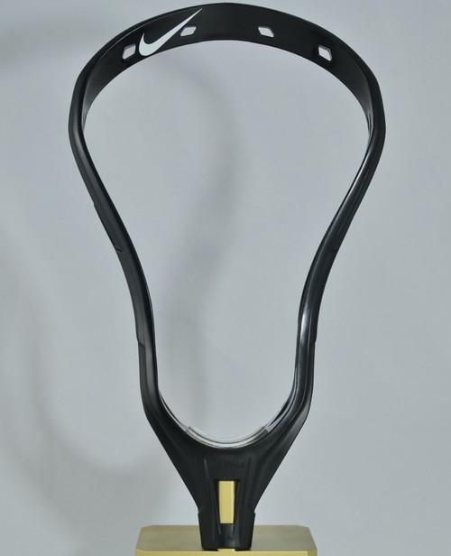 Black Alpha U Lacrosse Head Front Profile