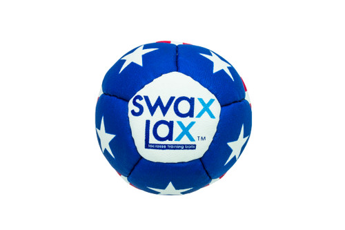 Swax Lax Ball - Stars 'n Stripes Front