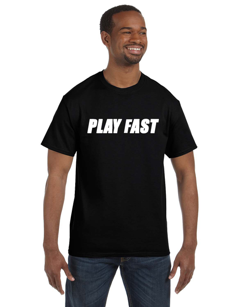 Play Fast Cotton Shirt - Black