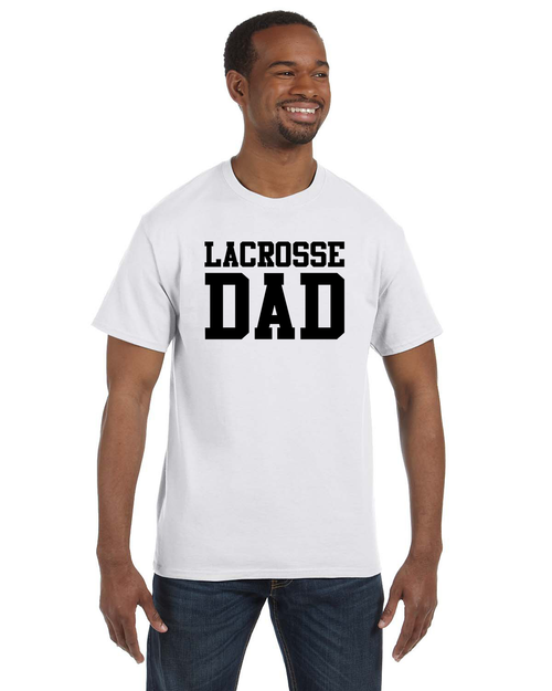 Lacrosse Dad Cotton Shirt - White