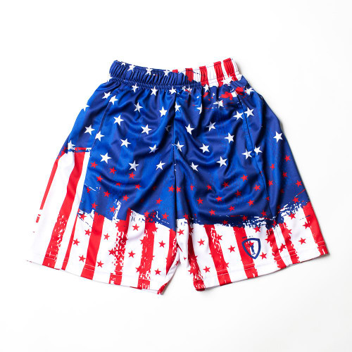 Lacrosse Stars and Stripes Short