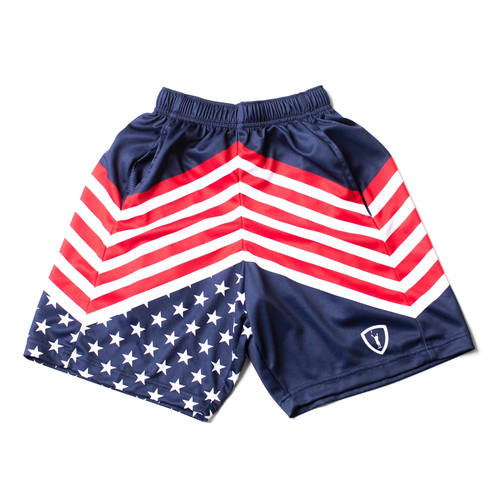 Lacrosse Stripes Short - Front