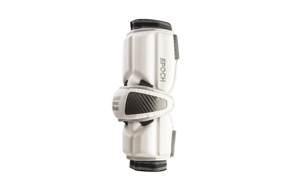 Epoch Lacrosse Integra Arm Guards - White