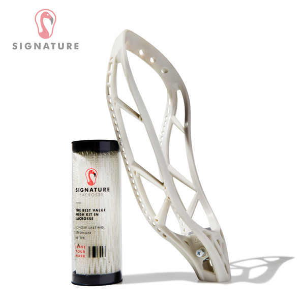 Signature Lacrosse Contract Head and Magik Mesh Kit Bundle