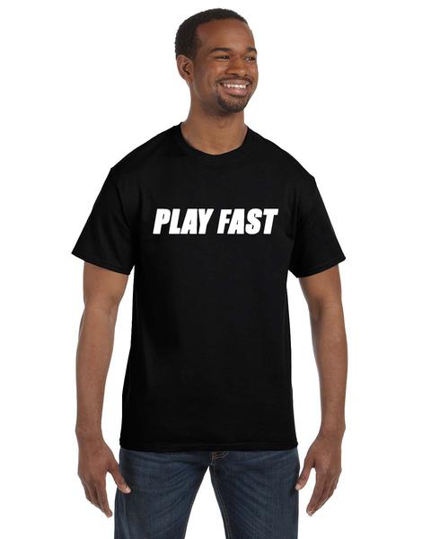Play Fast Cotton Shirt - Black
