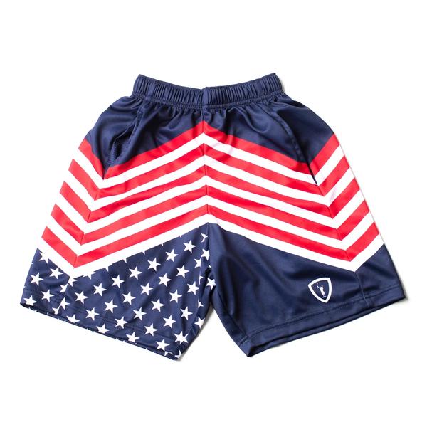 Lacrosse Stripes Short - Front