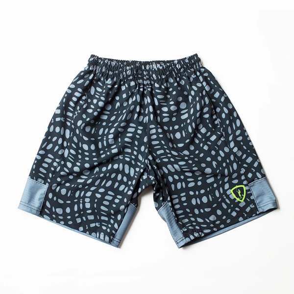 Black Wave Lacrosse Short - Front