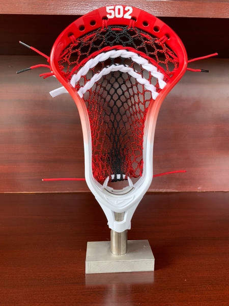 Force Rhombus Mesh - Red and Black Colorway