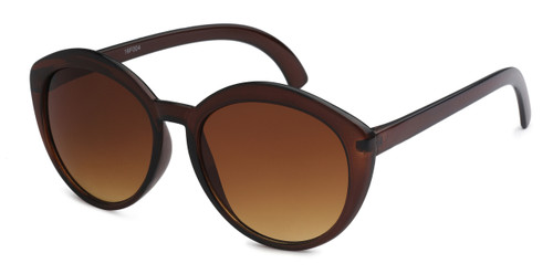 HIGH QUALITY UV400 PROTECTION SUNGLASSES. BROWN FRAMES. (M-4-brn)
