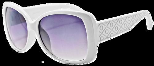 UV400 PROTECTION! UBER-MODERN WHITE FRAME SUNGLASSES!